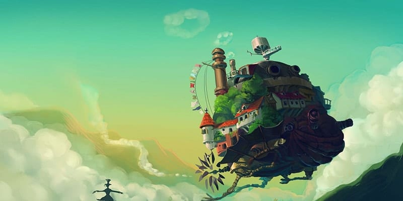 Yürüyen Şato – Howl's Moving Castle